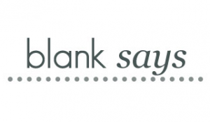 As Seen On:  Blank Says
