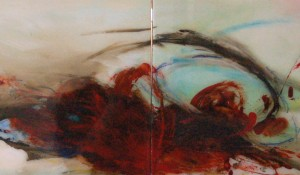 Waking in Sunlight – 12 x 48 – Diptych – 2011 – SOLD