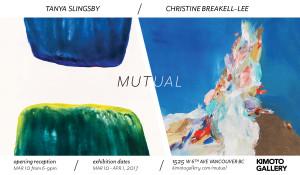 MUTUAL Show at Kimoto Gallery